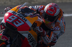 May 6, 2018 - Jerez, Jerez, Spain - Marc Marquez during Spanish MotoGP, Saturday qualifying; (Credit Image: © Gaetano Piazzolla/Pacific Press via ZUMA Wire)