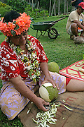 Hanavave, Island of Fatu Hiva, Marquesas Islands, French Polynesia, (Editorial use only)<br />