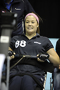 Birmingham, Great Britain,  Women's, A final, Nicole EMERSON, Great Missenden, Bronze  medallist from Tees RC competing at the 2008 British Indoor Rowing Championships, National Indoor Arena. on  Sunday 26.10.2008 . [Photo, Peter Spurrier/Intersport-images] .
