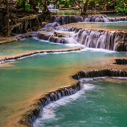 Laos - Kuang Si Waterfall