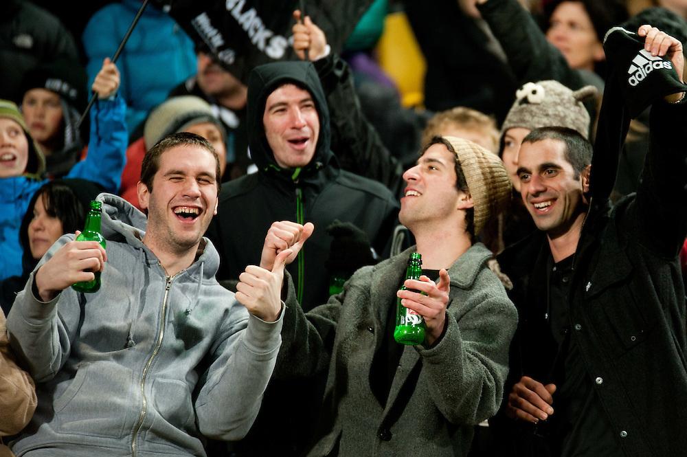 All Blacks vs South Africa Test Match. July 30, 2011. Westpac Stadium...Photo by Mark Tantrum