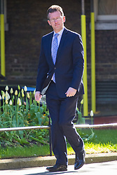 Downing Street, London, April 25th 2017. Attorney General Jeremy Wright attends the weekly cabinet meeting at 10 Downing Street in London. Credit: ©Paul Davey