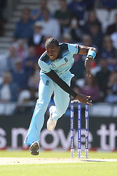 June 21, 2019 - Leeds, Yorkshire, United Kingdom - Jofra Archer of England bowling during the ICC Cricket World Cup 2019 match between England and Sri Lanka at Headingley Carnegie Stadium, Leeds on Friday 21st June 2019. (Credit Image: © Mi News/NurPhoto via ZUMA Press)