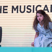 Matilda The Musical on stage at West End Live on June 17 2018  in Trafalgar Square, London.