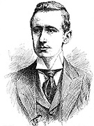 Guglielmo Marconi (1874-1937) Italian physicist and inventor. From Georges Darey 'A travers l'Electricite', Paris c1906. Engraving