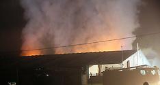 Barton Stacey Barn Fire