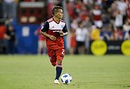 July 4, 2018: FC Dallas plays Atlanta United at Toyota Stadium in Frisco, Texas.