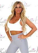 Katie Price Nutrition Photocall