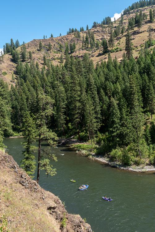 Float trip on Oregon's Grande Ronde River.