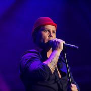 NLD/Amsterdam/20121117 - Danny de Munk 30 jaar in het vak, Danny de Munk met het rode hoedje van Harry Slinger