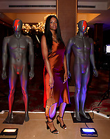 """Abiola Rufai  at the UK Premiere of """"Stardust"""", the Opening Film of the Raindance Film Festival,The May Fair Hotel ,London photo by Roger Alarcon"""