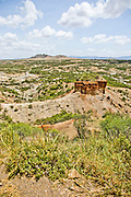 Tanzania, Rift Valley, Olduvai Gorge - origin of mankind, Tanzania closeup of a monolith