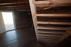Blockhouse Interior at English Camp, San Juan Island, Washington, US