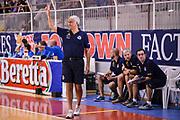 DESCRIZIONE : Cantù Precampionato 2015-2016 Acqua Vitasnella Cantu' - Vanoli Cremona<br /> GIOCATORE : Cesare Pancotto<br /> CATEGORIA : Allenatore Coach Mani <br /> SQUADRA : Vanoli Cremona<br /> EVENTO : Precampionato 2015-2016<br /> GARA : Acqua Vitasnella Cantu' - Vanoli Cremona<br /> DATA : 20/09/2015<br /> SPORT : Pallacanestro<br /> AUTORE : Agenzia Ciamillo-Castoria/M.Ozbot<br /> Galleria : Precampionato 2015-2016 <br /> Fotonotizia: Cantu Precampionato 2015-2016 Acqua Vitasnella Cantu' - Vanoli Cremona