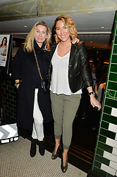 Left to right, PIPPA VOSPER and ALEX MEYERS at a party to celebrate the publication of Honestly Healthy Cleanse by Natasha Corrett held at Tredwell's Restaurant, 4a Upper St.Martin's Lane, London on 14th January 2015.