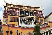 China, Yunnan province, Zhongdian, AKA Shangri-La Songzalin Temple