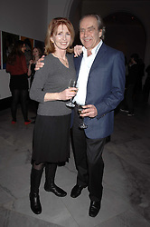 GERALD SCARFE and his wife actress JANE ASHER at the opening party for 'Face of Fashion' an exhibition of photographs by five of the World's leading fashion photographers held at the National Portrait Gallery, St.Martin's Lane, London on 12th February 2007.<br /><br />NON EXCLUSIVE - WORLD RIGHTS