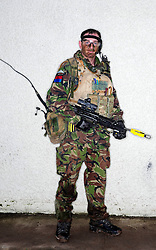 © under licence to London News Pictures 14/05/11. A defence minister has indicated that the military covenant, which promises a duty of care to the Armed Forces, may be put on a formal legal footing. (FILE PICTURE OF BRITISH SOLDIER). Photo credit should read Andrew Chittock/LNP.