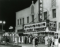 1933 Film Marte Theater on Vine St. at La Mirada Ave.