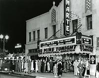 1933 Film Marte Theater on Vine St. at La Mirada Ave.