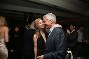 BIMBA RUBIA AND LARRY GAGOSIAN. Party hosted by Larry Gagosian at Nobu, Berkeley St. London. 9 October 2007. -DO NOT ARCHIVE-© Copyright Photograph by Dafydd Jones. 248 Clapham Rd. London SW9 0PZ. Tel 0207 820 0771. www.dafjones.com.