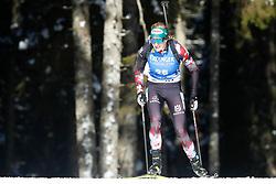 Lisa Theresa Hauser of Austria competes during the IBU World Championships Biathlon 15km Individual Women competition on February 16, 2021 in Pokljuka, Slovenia. Photo by Primoz Lovric / Sportida