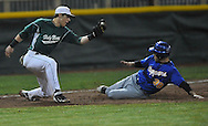Holy Name vs. Clearview in a district semifinal  tournament baseball game at The Pipe Yard in Lorain.