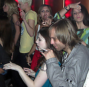 """**EXCLUSIVE**.Michelle Trachtenberg with her new boyfriend dancing, drinking and having a lot of fun..Joel Rousseau's Weekly """"We Love Models"""" Party.Tenjune Nightclub.New York, NY, USA.Tuesday, April 22, 2008.Photo By Celebrityvibe.com.To license this image call (212) 410 5354 or;.Email: celebrityvibe@gmail.com; .Website: www.celebrityvibe.com ."""