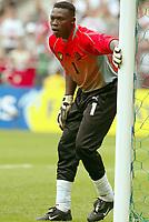 FOTBALL - CONFEDERATIONS CUP 2003 - GROUP B - KAMERUN V TYRKIA - 030621 - IDRIS KAMENI (CAM) - PHOTO STEPHANE MANTEY / DIGITALSPORT
