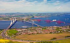 Three bridges over the Forth, South Queensferry, 20 May 2018