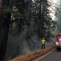 CZU August Lightning Complex fires in Bonny Doon, Boulder Creek and Big Basin. (Shmuel Thaler - Santa Cruz Sentinel)