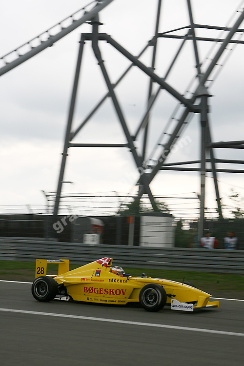 Mikkel Mac in Formula BMW  at the 2009 German Grand Prix at the Nurburgring. Photo: Grand Prix Photo