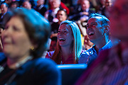 Audience members during TED2019: Bigger Than Us. April 15 - 19, 2019, Vancouver, BC, Canada. Photo: Bret Hartman / TED