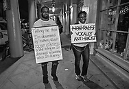 Thousands gather at a rally outside of Jackson Square in New Orleans on June 5, 2020, on the seventh day of protests over the police killing of George Floyd in Minneapolis on May 25. The protests were spearheaded by the New Orleans Workers Group and Take 'Em Down NOLA .