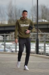 January 26, 2019 - Rotherham, England, United Kingdom - Kiko Casilla of Leeds United before the Sky Bet Championship match between Rotherham United and Leeds United at the New York Stadium, Rotherham, England, UK, on Saturday 26th January 2019. (Credit Image: © Mark Fletcher/NurPhoto via ZUMA Press)