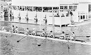 Henley on Thames, England, 1989 Henley Royal Regatta, River Thames, Henley Reach,  [© Peter Spurrier/Intersport Images], The Thames Challenge Cup, University Of London, ULBC