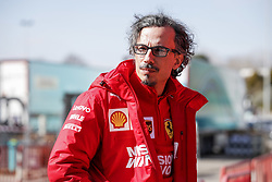 February 18, 2019 - Barcelona, Spain - MEKIES Laurent (fra), Sporting Director of the Scuderia Ferrari, portrait during Formula 1 winter tests from February 18 to 21, 2019 at Barcelona, Spain - : FIA Formula One World Championship 2019, Test in Barcelona, (Credit Image: © Hoch Zwei via ZUMA Wire)