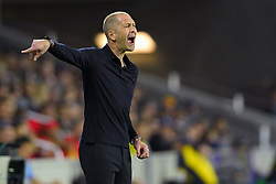 March 21, 2019 - Orlando, Florida, USA - US head coach Gregg Berhalter during an international friendly between the US and Ecuador at Orlando City Stadium on March 21, 2019 in Orlando, Florida. ...©2019 Scott A. Miller. (Credit Image: © Scott A. Miller/ZUMA Wire)
