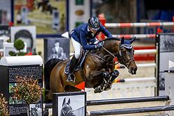 HASSMANN Toni (GER), Contendrix<br /> Grand Prix von Volkswagen<br /> Int. jumping competition over two rounds (1.55 m) - CSI3*<br /> Comp. counts for the LONGINES Rankings<br /> Braunschweig - Classico 2020<br /> 08. März 2020<br /> © www.sportfotos-lafrentz.de/Stefan Lafrentz