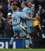 Fotball<br /> England 2004/2005<br /> Foto: SBI/Digitalsport<br /> NORWAY ONLY<br /> <br /> 30.10.2004<br /> Coventry City v Reading <br /> Coca Cola Championship<br /> <br /> Andy Morrell celebrates after scoring the second goal for Cov.