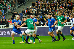 February 3, 2018 - Saint Denis, Seine Saint Denis, France - The number height of French Team KEVIN GOURDON in action during the NatWest Six Nations Rugby tournament between France and Ireland at the Stade de France - St Denis - France..Ireland Won 15-13 (Credit Image: © Pierre Stevenin via ZUMA Wire)