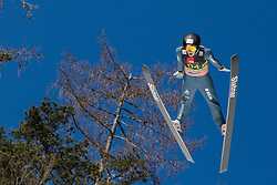 Dominik Peter (SUI) during the Ski Flying Hill Team Competition at Day 3 of FIS Ski Jumping World Cup Final 2019, on March 23, 2019 in Planica, Slovenia. Photo by Peter Podobnik / Sportida