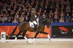 Ahlberg Emma (NED) - Franklin<br /> KWPN Stallion Selection - 's Hertogenbosch 2014<br /> © Dirk Caremans