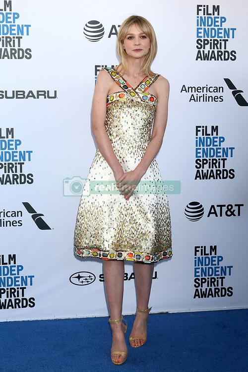 February 23, 2019 - Santa Monica, CA, USA - LOS ANGELES - FEB 23:  Carey Mulligan at the 2019 Film Independent Spirit Awards on the Beach on February 23, 2019 in Santa Monica, CA (Credit Image: © Kay Blake/ZUMA Wire)