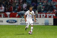 FOOTBALL - FRENCH CHAMPIONSHIP 2011/2012 - L1 - LILLE OSC v FC SOCHAUX - 17/09/2011 - PHOTO CHRISTOPHE ELISE / DPPI - DAVID SAUGET (FC SOCHAUX-MONTBELIARD)