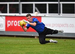Liam Armstrong of Bristol Rovers XI during warm-up - Mandatory by-line: Paul Knight/JMP - 18/07/2017 - FOOTBALL - Viridor Stadium - Taunton, England - Taunton Town v Bristol Rovers XI - Pre-season friendly