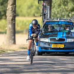13-09-2020: Wielrennen: NK tijdrijden nieuwelingen en junioren: Chaam <br />Jerney van der Heijden