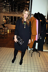 ANYA HINDMARCH at a party to celebrate the 2nd issue of Distill Magazine held at The Shop at Bluebrid, Kings Road, London on 1st December 2008.