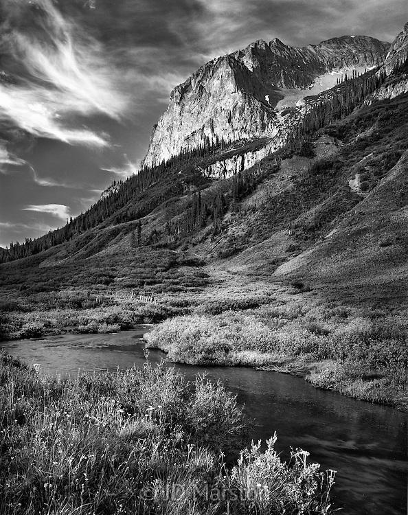 Gothic Mountain dawn, Crested Butte, Colorado