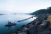 Jetty Fishery on Nehalem Bay, OR